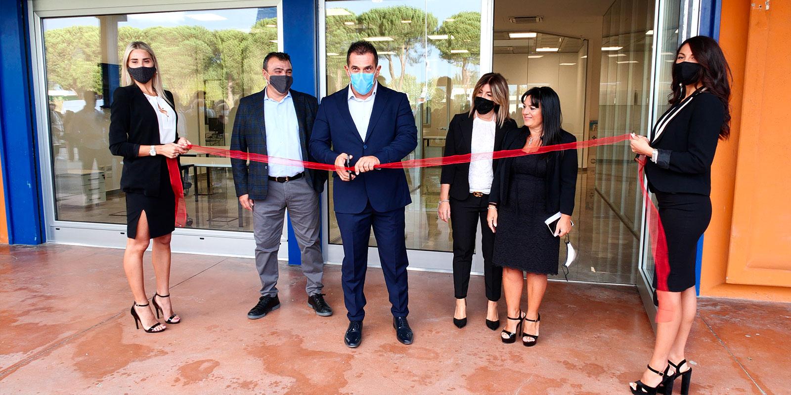 Belle Pergole - L'azienda inaugura una nuova sede
