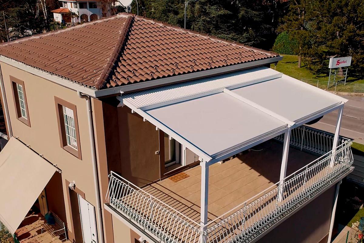 pergola esterna per copertura terrazzi